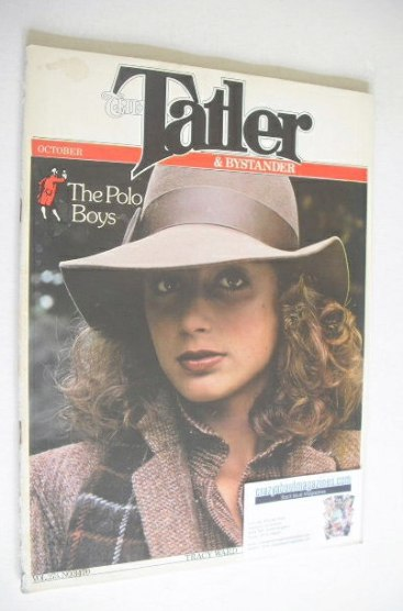 <!--1978-10-->Tatler & Bystander magazine - October 1978 - Tracy Ward cover