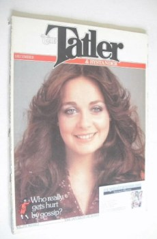 Tatler & Bystander magazine - December 1978 - The Duchess of Roxburghe cover