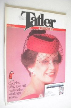 Tatler & Bystander magazine - February 1979 - The Countess of Harewood cover