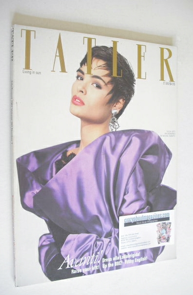 <!--1987-07-->Tatler magazine - July/August 1987 - Talisa Soto cover