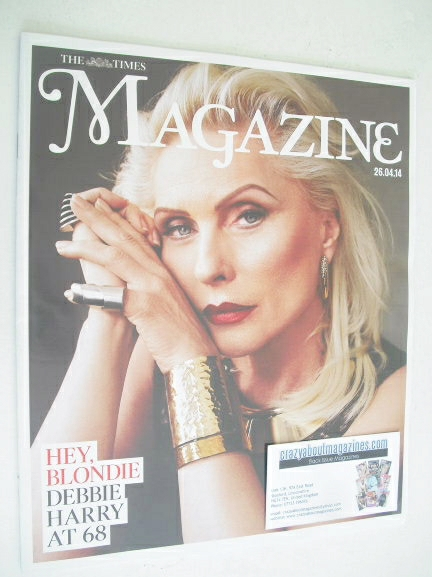 <!--2014-04-26-->The Times magazine - Debbie Harry cover (26 April 2014)