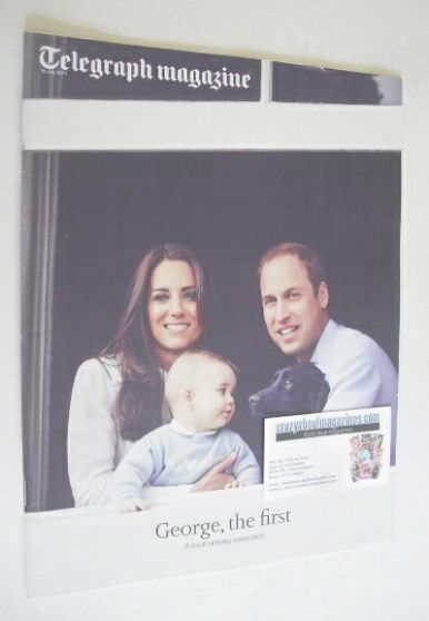 <!--2014-07-19-->Telegraph magazine - Prince William, Kate and Prince Georg