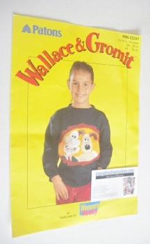 Wallace and Gromit Sweater Knitting Pattern (Patons PBN E2241) (Child Size)