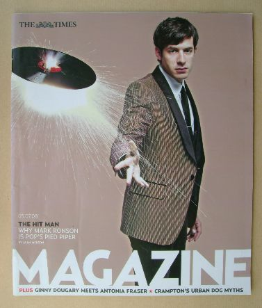 <!--2008-07-05-->The Times magazine - Mark Ronson cover (5 July 2008)