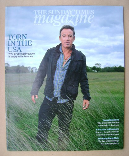 <!--2010-11-21-->The Sunday Times magazine - Bruce Springsteen cover (21 No