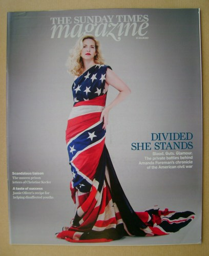 <!--2010-10-17-->The Sunday Times magazine - Amanda Foreman cover (17 Octob