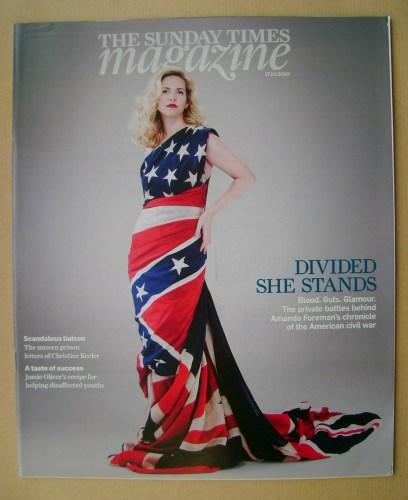 <!--2010-10-17-->The Sunday Times magazine - Amanda Foreman cover (17 Octob