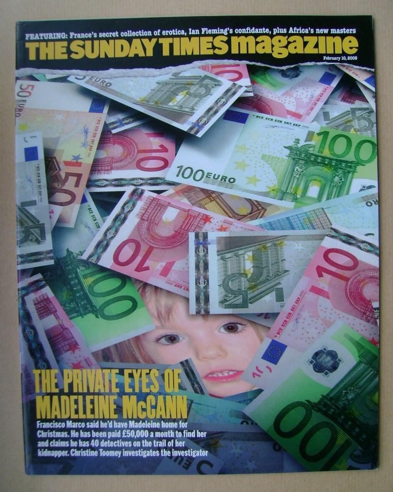 <!--2008-02-10-->The Sunday Times magazine - 10 February 2008