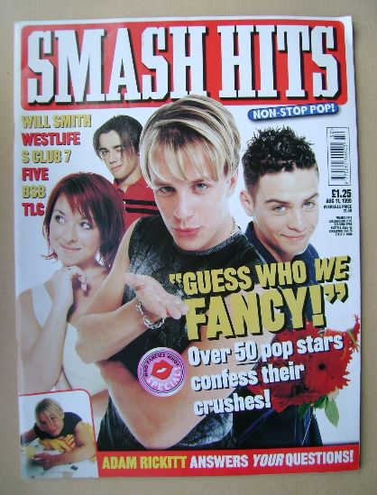 <!--1999-08-11-->Smash Hits magazine - 11 August 1999