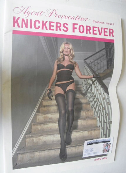 Agent Provocateur brochure - Issue 1 (Kate Moss cover)
