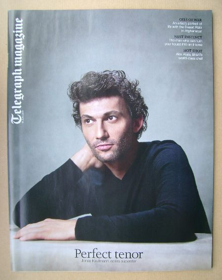 <!--2014-06-14-->Telegraph magazine - Jonas Kaufmann cover (14 June 2014)