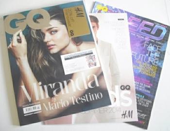British GQ magazine - May 2014 - Miranda Kerr cover
