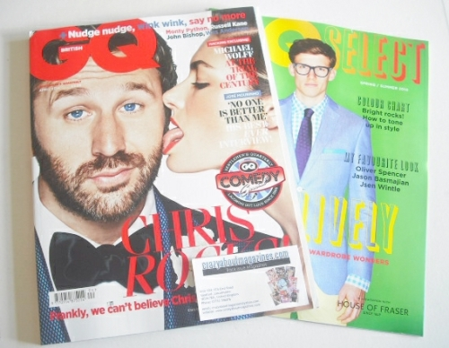 <!--2014-04-->British GQ magazine - April 2014 - Chris O'Dowd cover