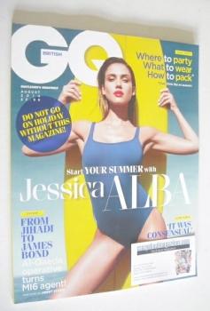 British GQ magazine - August 2014 - Jessica Alba cover