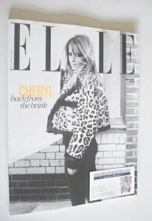 <!--2014-08-->British Elle magazine - August 2014 - Cheryl Cole cover (Subs