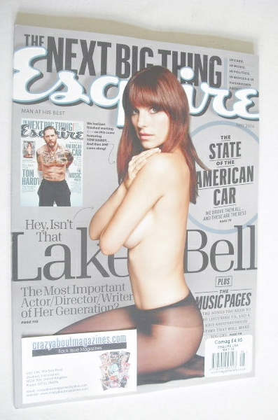 <!--2014-05-->Esquire magazine - Lake Bell cover (May 2014 - US Edition)