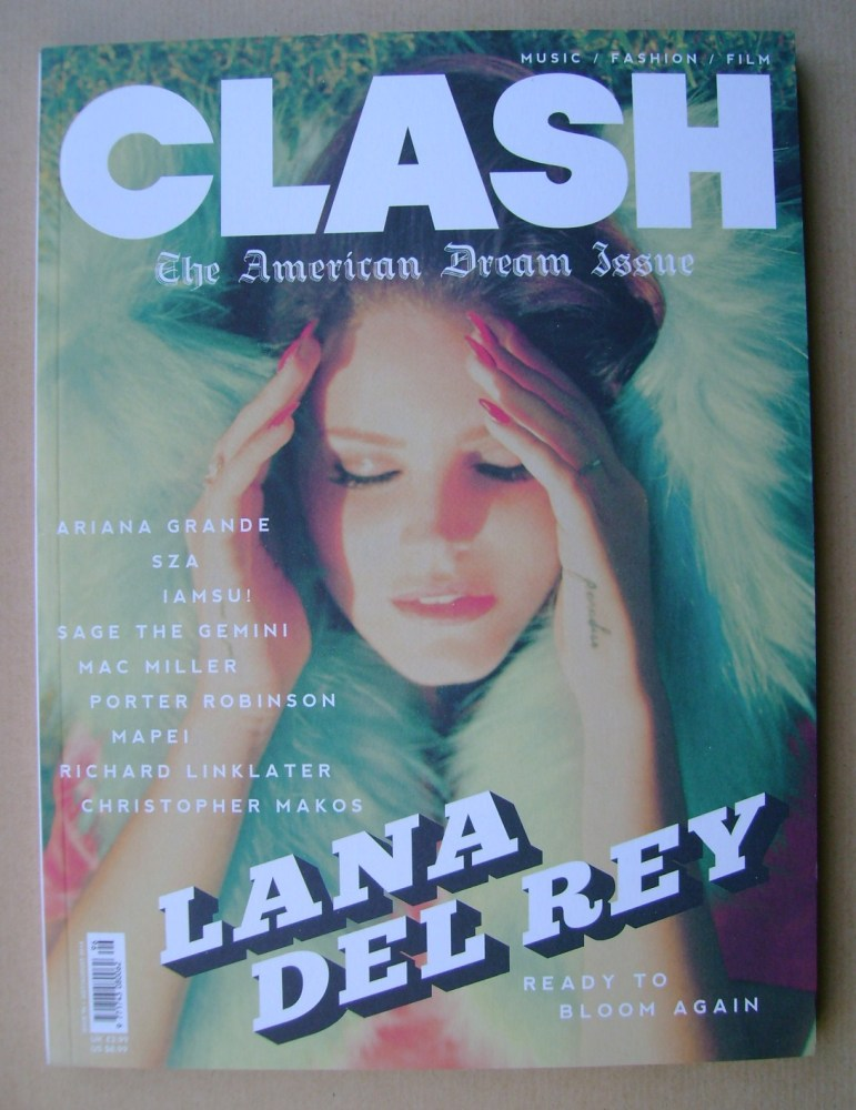 Clash magazine - Lana Del Rey cover (July/August 2014)