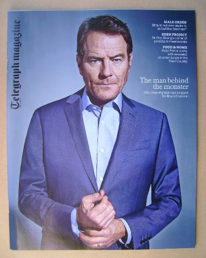 <!--2014-05-10-->Telegraph magazine - Bryan Cranston cover (10 May 2014)