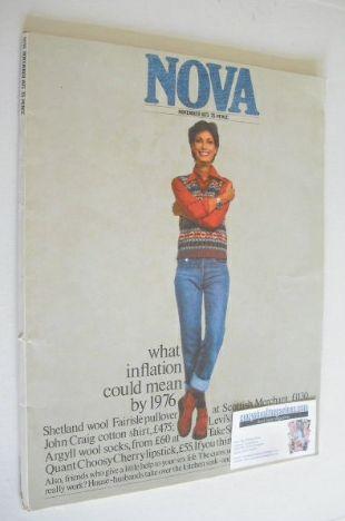 <!--1973-11-->NOVA magazine - November 1973