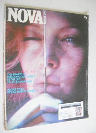 <!--1972-08-->NOVA magazine - August 1972