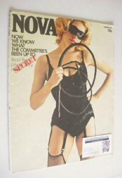 NOVA magazine - January 1972