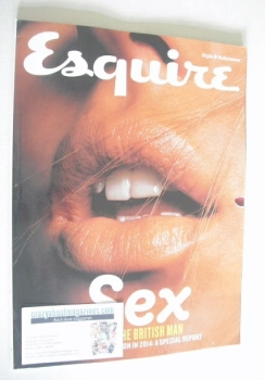 Esquire magazine - Sex And The British Man cover (August 2014 - Subscriber's Issue)
