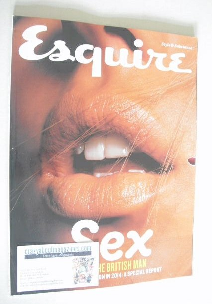 <!--2014-08-->Esquire magazine - Sex And The British Man cover (August 2014