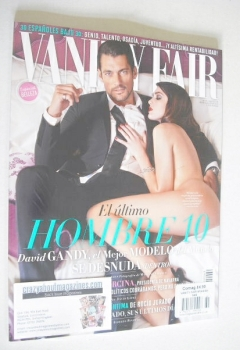 Vanity Fair magazine - David Gandy and Charlotte Pallister cover (May 2014 - Spanish Edition)