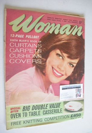 <!--1964-10-03-->Woman magazine (3 October 1964)