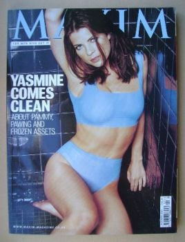 MAXIM magazine - Yasmine Bleeth cover (October 1999)