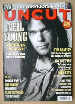 Uncut magazine - Neil Young cover (March 2009)