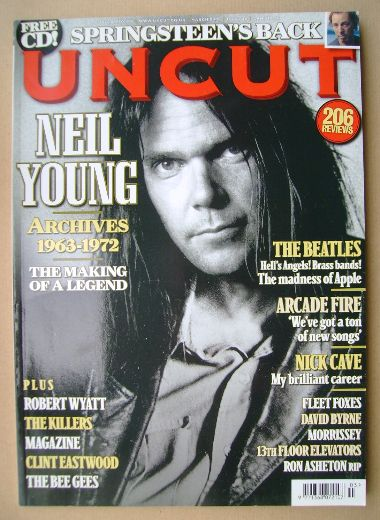 <!--2009-03-->Uncut magazine - Neil Young cover (March 2009)