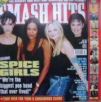 <!--1998-12-30-->Smash Hits magazine - Spice Girls cover (30 December 1998)