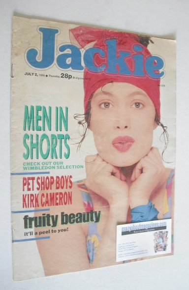 <!--1988-07-02-->Jackie magazine - 2 July 1988 (Issue 1278)
