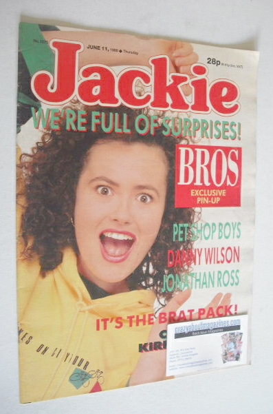 <!--1988-06-11-->Jackie magazine - 11 June 1988 (Issue 1275)