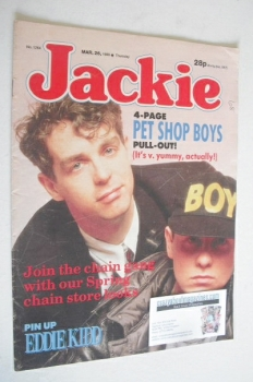 Jackie magazine - 26 March 1988 (Issue 1264)