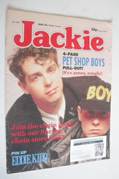 <!--1988-03-26-->Jackie magazine - 26 March 1988 (Issue 1264)