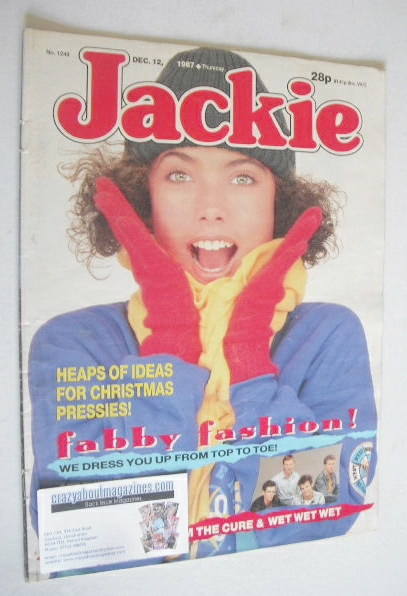 <!--1987-12-12-->Jackie magazine - 12 December 1987 (Issue 1249)