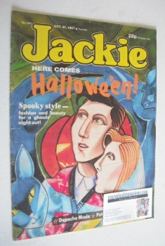 Jackie magazine - 31 October 1987 (Issue 1243)