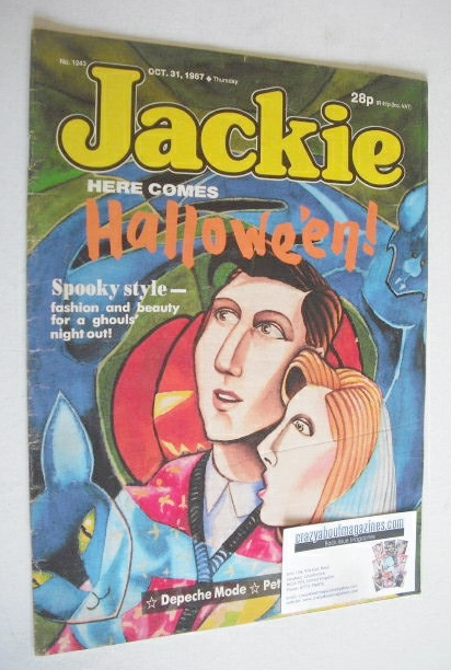<!--1987-10-31-->Jackie magazine - 31 October 1987 (Issue 1243)