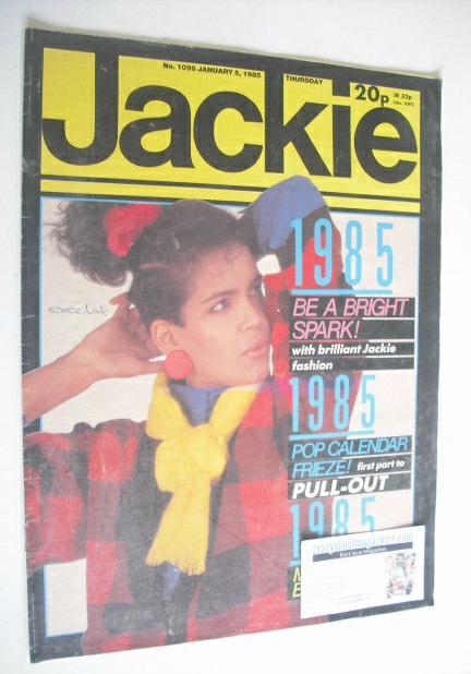 <!--1985-01-05-->Jackie magazine - 5 January 1985 (Issue 1096)