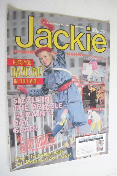 <!--1984-03-31-->Jackie magazine - 31 March 1984 (Issue 1056)