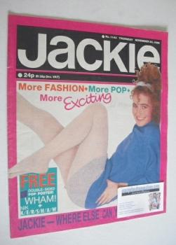 Jackie magazine - 30 November 1985 (Issue 1143)
