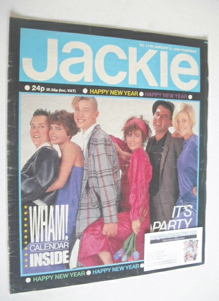 <!--1986-01-04-->Jackie magazine - 4 January 1986 (Issue 1148)