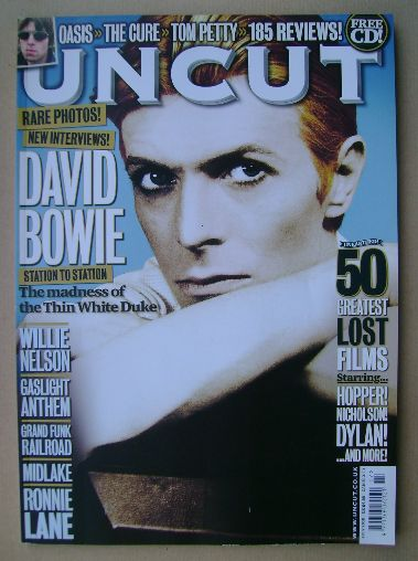 <!--2010-07-->Uncut magazine - David Bowie cover (July 2010)