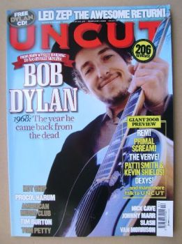Uncut magazine - Bob Dylan cover (February 2008)