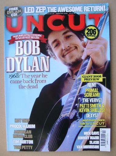 <!--2008-02-->Uncut magazine - Bob Dylan cover (February 2008)