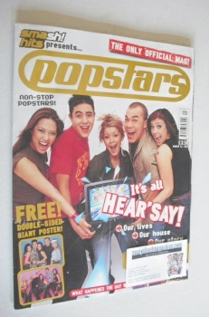 Popstars Official magazine (14 March 2001)