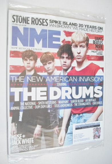<!--2010-05-29-->NME magazine - The Drums cover (29 May 2010)