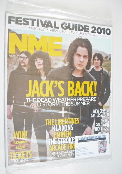 <!--2010-05-01-->NME magazine - Jack Black cover (1 May 2010)